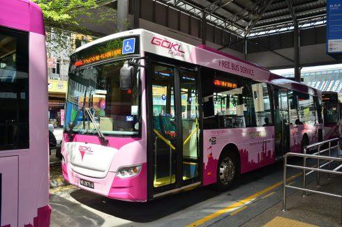 モントキアラ 無料シャトルバスサービス スケジュール クアラルンプール 12