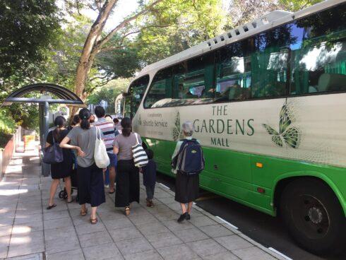 モントキアラ 無料シャトルバスサービス スケジュール クアラルンプール 5