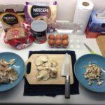 海外での激安和食づくり 干したGrey Oyster Mushroomのお出汁が旨い!