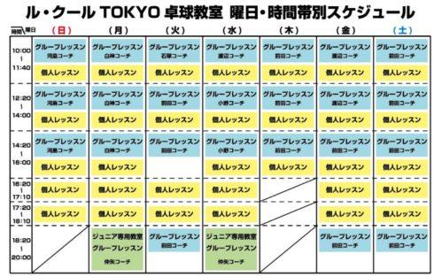 高田馬場 卓球 情報 2