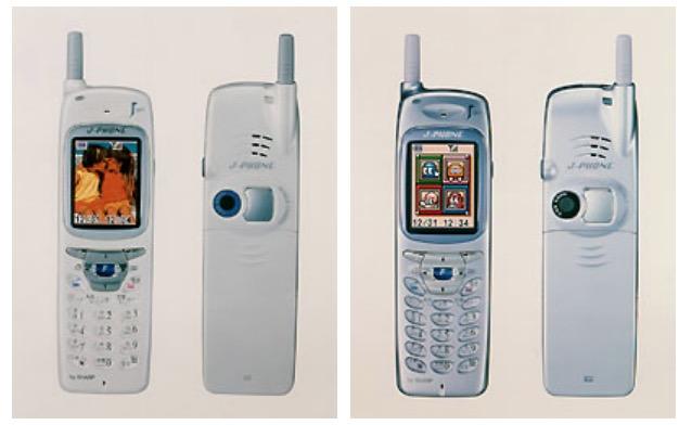 『写メール』約20年の歴史 J-Phone SHARP J-SH04 19