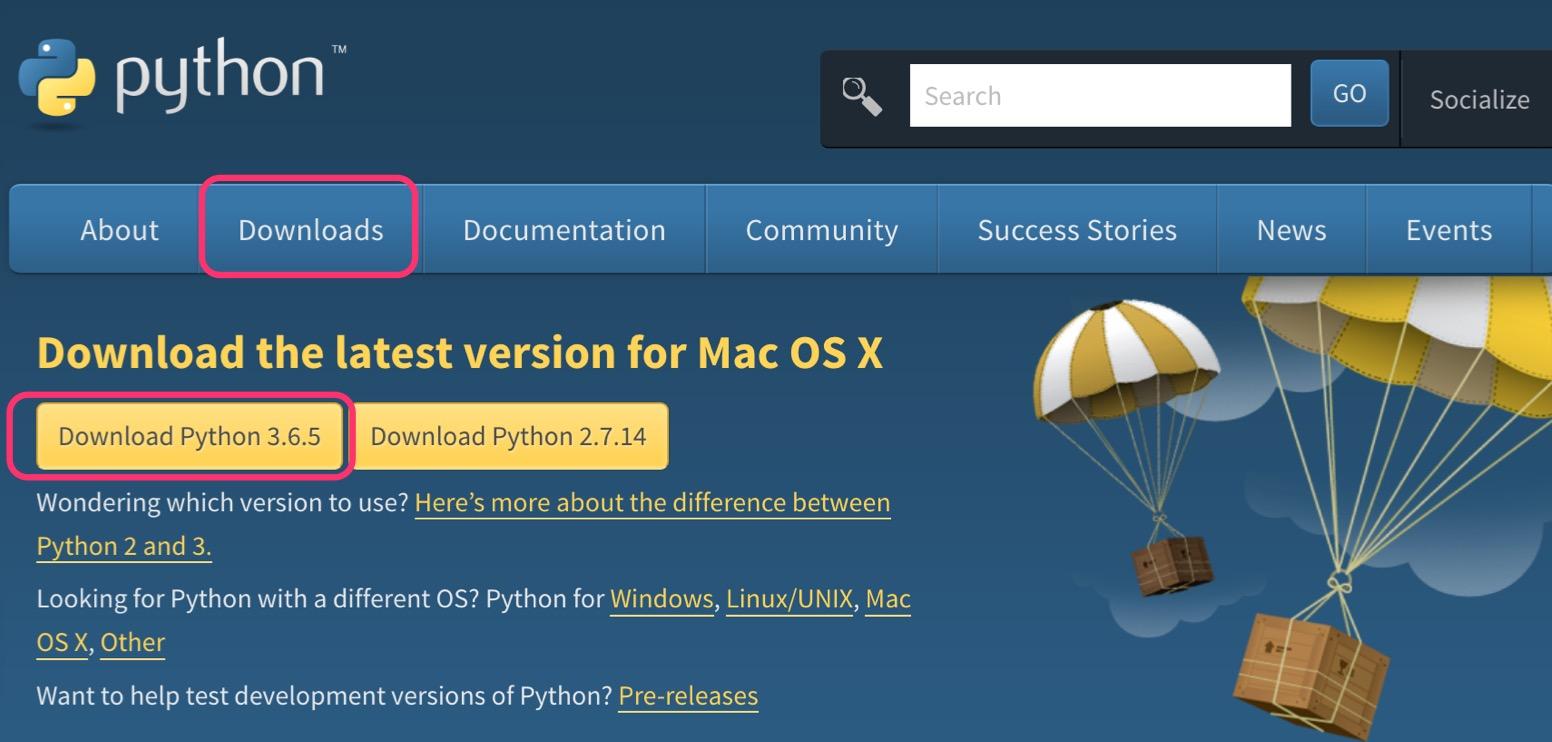 超初心者のためのMacでPython3入門 17