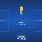 ロシアワールドカップ W杯  テレビ放映スケジュール KNNワールドカップ