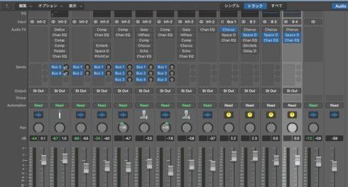 【DTM】ボーカル ミキシング LogicPro ボーカルピッチ調整 FlexPitch 6