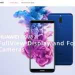 HUAWEI nova2i をマレーシアで購入した 日本では Mate10lite