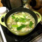 #ルクルーゼ で作る  #鶏の水炊き まさかの濃厚だし!