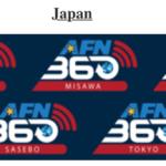 沖縄のFMラジオ局チャンネル AFN