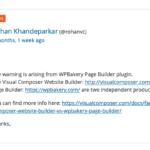 プラグイン エラー研究所 WPBakery Visual Composerが原因だった!